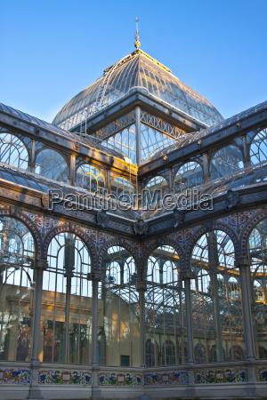 palacio de cristal in retiro city