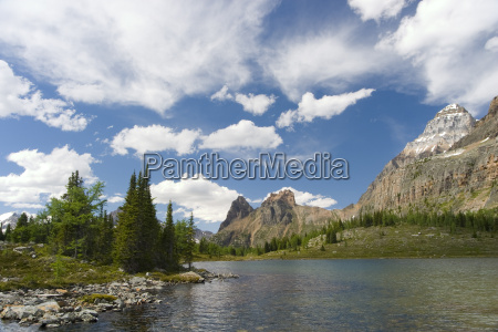 scenic mountain lakes