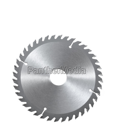 circular saw blade for wood isolated