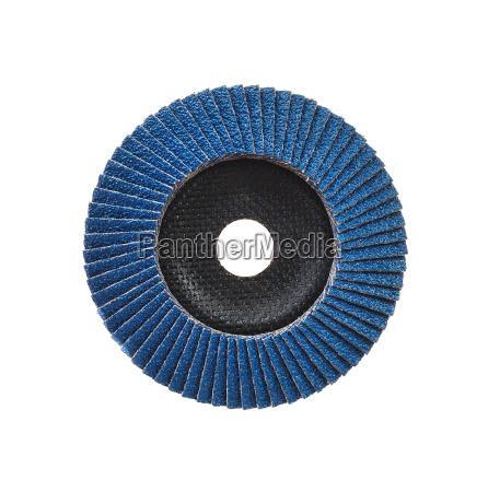 abrasive disk for grinder isolated on