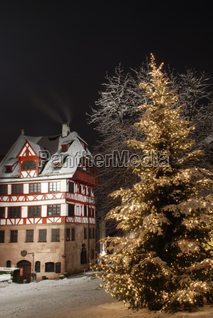 albrecht duerer house nuremberg christmas