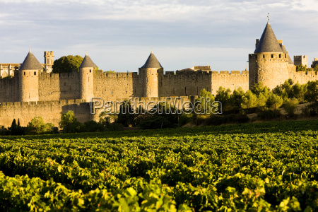 carcassonne languedoc roussillon frankreich
