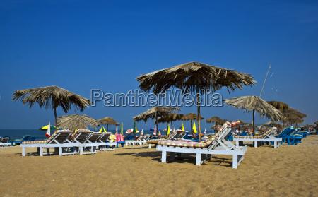 calangute goa india beach scene