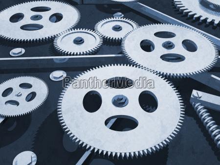 gears background