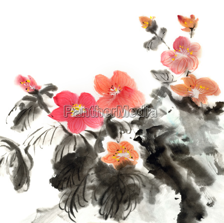 colorful chinese painting
