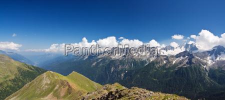 val di sole italien panoramablick