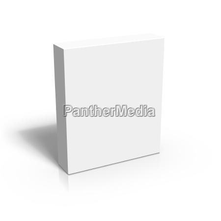 leere 3d box