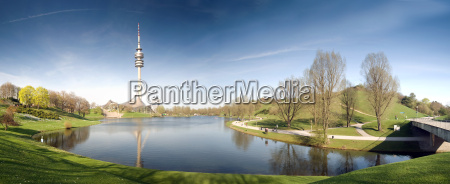 olympiapark muenchen panorama