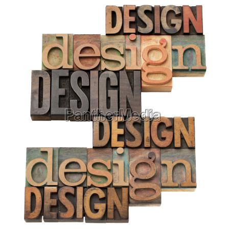 design word collage