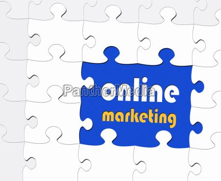 online marketing business concept