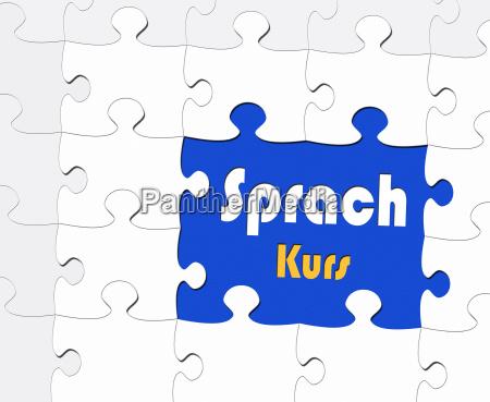 sprachkurs konzept bildung und lernen
