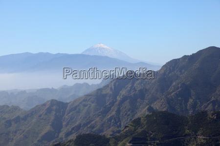 teide volcano on tenerife canary islands