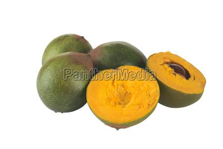 peruanische frucht namens lucuma