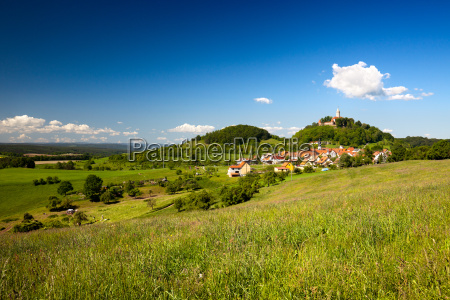 landscape leuchtenburg seitenroda with