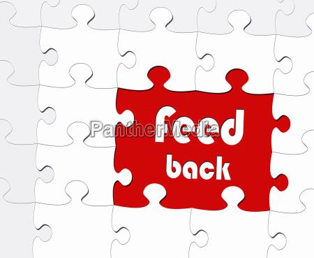 feedback meeting concept