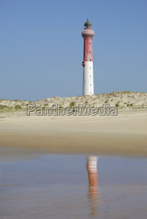 lighthouse of la coubre in france