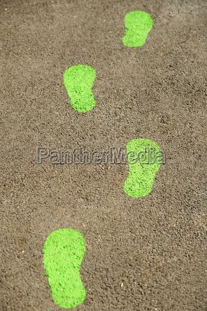 gruene abdruecke