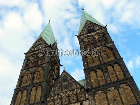 cattedrale brema segni simbolo santo gotico