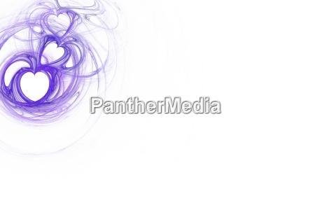 lila purpur abstraktes abstrakte abstrakt fraktal