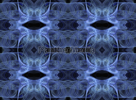 seamless wallpaper in blue and black
