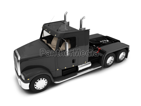 bigtruck isolated front view