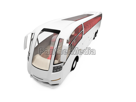future bus isolated view