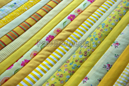 stoff stoffmuster patchwork muster gemustert gelb