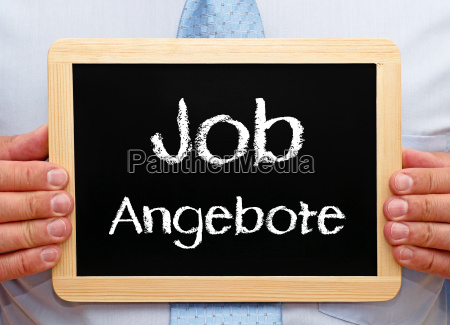 job offers concept and professional