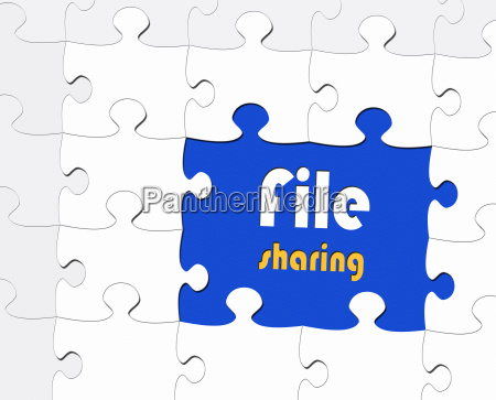 file sharing ebusiness concept