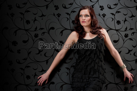 cocktail party woman evening dress
