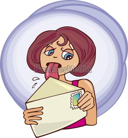 maedchen und brief