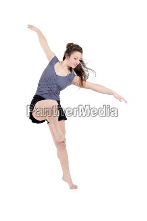 kvinde sport brun brunette dans pige