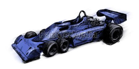 former formula one bolide