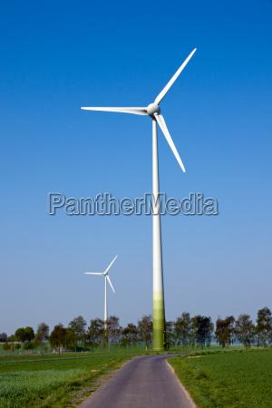 zwei windraeder