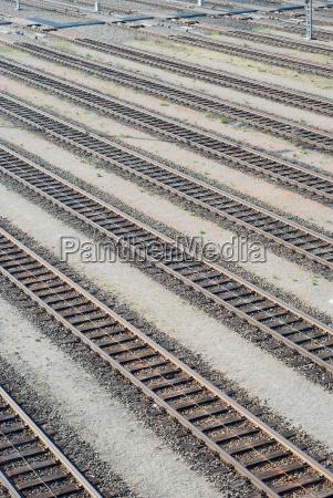 rail yard tracks