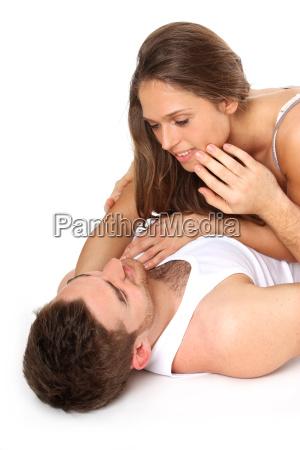 zaertliches paar