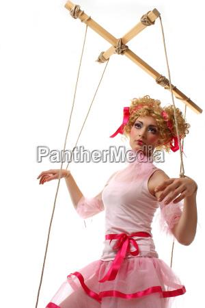 ferngesteuerte marionette