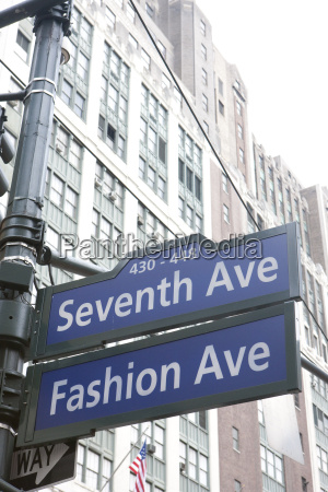 7th avenue new york city usa