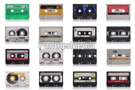 retro musik kassette