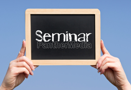 seminar business konzept