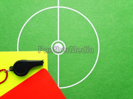 soccer referee utensils fussball schiedsrichter