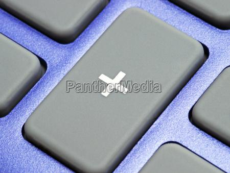 study blue controller office laptop notebook