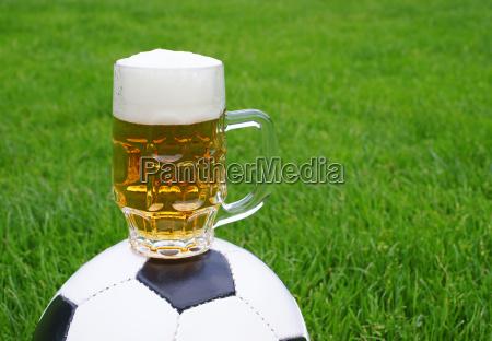 bier fussball beer
