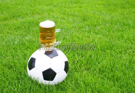 fussball bier soccer beer