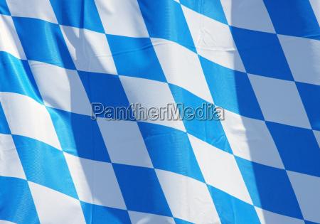 flagge bayern bavarian flag detail