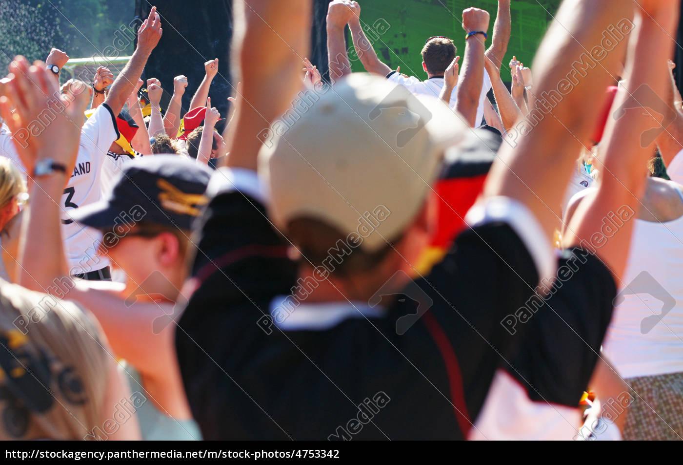public, viewing, -, fußball, fest - 4753342