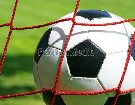 fussball im tor soccer goal