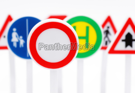 verkehrs schilder traffic signs