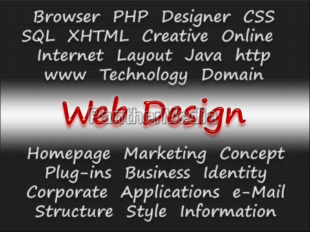 web design e business concept