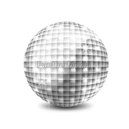 disco kugel illustration